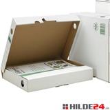 Ablageboxen Archivboxen weiß für Transport und Lagerung Ihrer Dokumente - HILDE24 Verpackungen