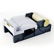 Abroller für Etikettenschutzband für Rollen bis 150 mm Breite und 66 lfm