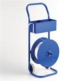 Abroller für textiles Polyesterband Typ BCF-M - fahrbar - HILDE24 Verpackungen
