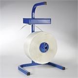 Abroller für textiles Polyesterband Typ BCF mit Ablagekasten | HILDE24 GmbH