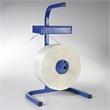 Abroller für textiles Polyesterband Typ BCF mit Ablagekasten