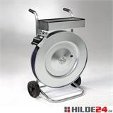 Abrollwagen für Stahlband in Packenwicklung, vollverzinkt |  HILDE24 GmbH