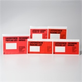 Begleitpapiertaschen Lieferscheintaschen in verschiedenen Ausführungen | HILDE24 GmbH