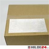 Begleitpapiertaschen aus Papier, weiß, 228 x 120 mm | HILDE24 GmbH