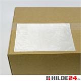 Begleitpapiertaschen aus Papier, weiß, 240 x 172 mm  | HILDE24 GmbH