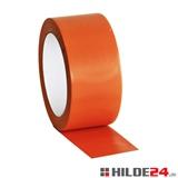 Bodenmarkierungsband orange aus Weich-PVC - HILDE24 Verpackungen