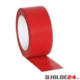 Bodenmarkierungsband rot aus Weich-PVC - HILDE24 Verpackungen