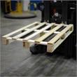Export-Einwegpalette, vierseitig einfahrbar - HILDE24 Verpackungen