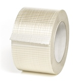 Filamentklebeband 75 mm x  50 lfm - längsverstärkt und querverstärkt - HILDE24 Verpackungen