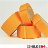 Flachkreppklebeband aus Reispapier, diverse Formate, orange - HILDE24 Verpackungen