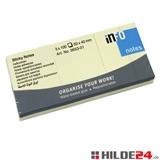 Haftnotizen, 3 Blöcke mit jeweils 100 Blatt, 50 x 40 mm | HILDE24 GmbH