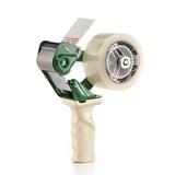 Handabroller für Klebeband, 50 mm breit, mit Bandablaufbremse, ergonomischer Griff