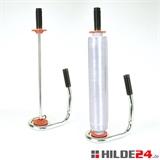 Handstretch-Apparat, mit Zentrierkegel, verstellbar für Folienbreiten 450 - 500 mm
