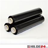 Handstretchfolie, 23 my, 500 mm x 260 lfm, schwarz - HILDE24 Verpackungen