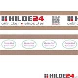 Individuell bedrucktes PVC Klebeband, einfarbig, zweifarbig, dreifarbig oder vierfarbig bedruckt - HILDE24 Verpackungen