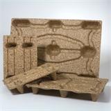 Inka Paletten Euro-Palettenmaß - platzsparend, biologisch abbaubar - HILDE24 Verpackungen