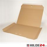Kalenderpac aus Wellpappe in braun und weiß | HILDE24 GmbH