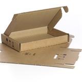 Klappschachtel AA8466B - 197 x 136 x 29 mm - zum Versenden von Kleinteilen, Mustersendungen, Warenproben  - HILDE24 Verpackungen