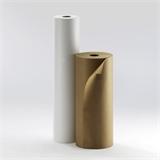 Kraftpapier Rolle braun und weiß - HILDE24 Verpackungen