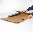 Kreuzverpackung aus Wellpappe, einteilig | HILDE24 GmbH