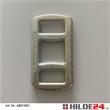 Lash-Schnallen für Bandbreite 32 mm gelb chromatiert  | HILDE24 GmbH