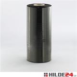 Maschinenstretchfolie, 23 my, 500 mm x 1360 lfm, schwarz-opak - HILDE24 Verpackungen