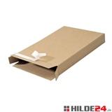 Maxibrief Karton Packbox mit Selbstklebeverschluss oben und unten - HILDE24 Verpackungen