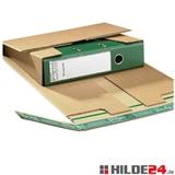 Ordnerversandverpackung mit seitlichen Sicherheitslaschen | HILDE24 GmbH