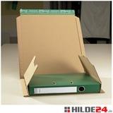 Ordnerversandverpackung zum Wickeln, braun - HILDE24 Verpackungen