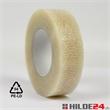 PE Klebeband - 38 mm x 150 lfm transparent mit fortlaufendem Recycling-Zeichen - HILDE24 Verpackungen