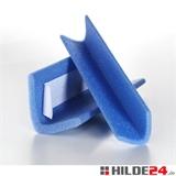 PE-Schaumprofile in L-Form, mit oder ohne haftendem Kleber   HILDE24 GmbH