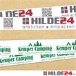 PP-Automatenklebeband 1-fabrig/2-fabrig positiv bedruckt | HILDE24 GmbH