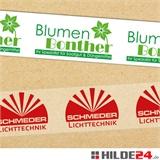 PP Klebeband bedruckt - HILDE24 Verpackungen