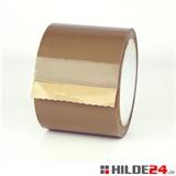 PP-Klebeband low noise 75 mm x 66 lfm braun - HILDE24 Verpackungen