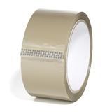 PP-Klebeband standard, braun, 48 mm x 66 lfm, Acrylat-Kleber