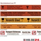 PP Warnklebeband - verschiedene Ausführungen - HILDE24 Verpackungen