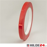 PVC Klebeband 9 mm x 66 lfm rot | HILDE24 GmbH