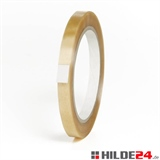 PVC Klebeband, Rolle: 12 mm x 66 lfm, transparent, Naturkautschuk | HILDE24 GmbH
