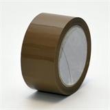 PVC-Klebeband, braun, 50 mm x 66 lfm, universell einsetzbares Packband