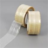 PVC-Klebeband, fadenverstärkt, extrem reißfest, transparent, 50 mm x 66 lfm