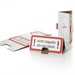 Palettenhütchen - Stapelschutzdreiecke aus Wellappe - HILDE24 Verpackungen