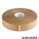 Papierselbstklebeband - 50 mm x 500 lfm - braun - HILDE24 Verpackungen