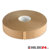 Papierselbstklebeband - 50 mm x 500 lfm - braun - für den Verschluss von leichten bis mittelschweren Kartonagen