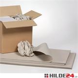 Schrenzpapier Bogen, grau | HILDE24 GmbH