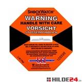 ShockWatch® Label (nicht ausgelöst) - für stoßempfindliche Transportgüter  | HILDE24 GmbH