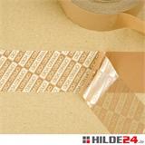 Sicherheitsklebeband - Sicherheitssiegelband mit Schriftzug OPENED VOID, braun-transluzent, 50 mm x 50 lfm | HILDE24 GmbH