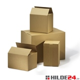 Sparkarton, 430 x 310 x 300 mm, FEFCO 0201, B-Welle | HILDE24 GmbH