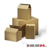 Sparkartons, 250 x 180 x 120 mm, FEFCO 0201, B-Welle | HILDE24 GmbH