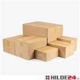 Sparkartons aus Wellpappe, B-Welle | HILDE24 GmbH