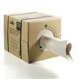 SpeedMan Box geöffnet, ca. 70 g/m² Recyclingpapier, 12,5 kg pro Karton